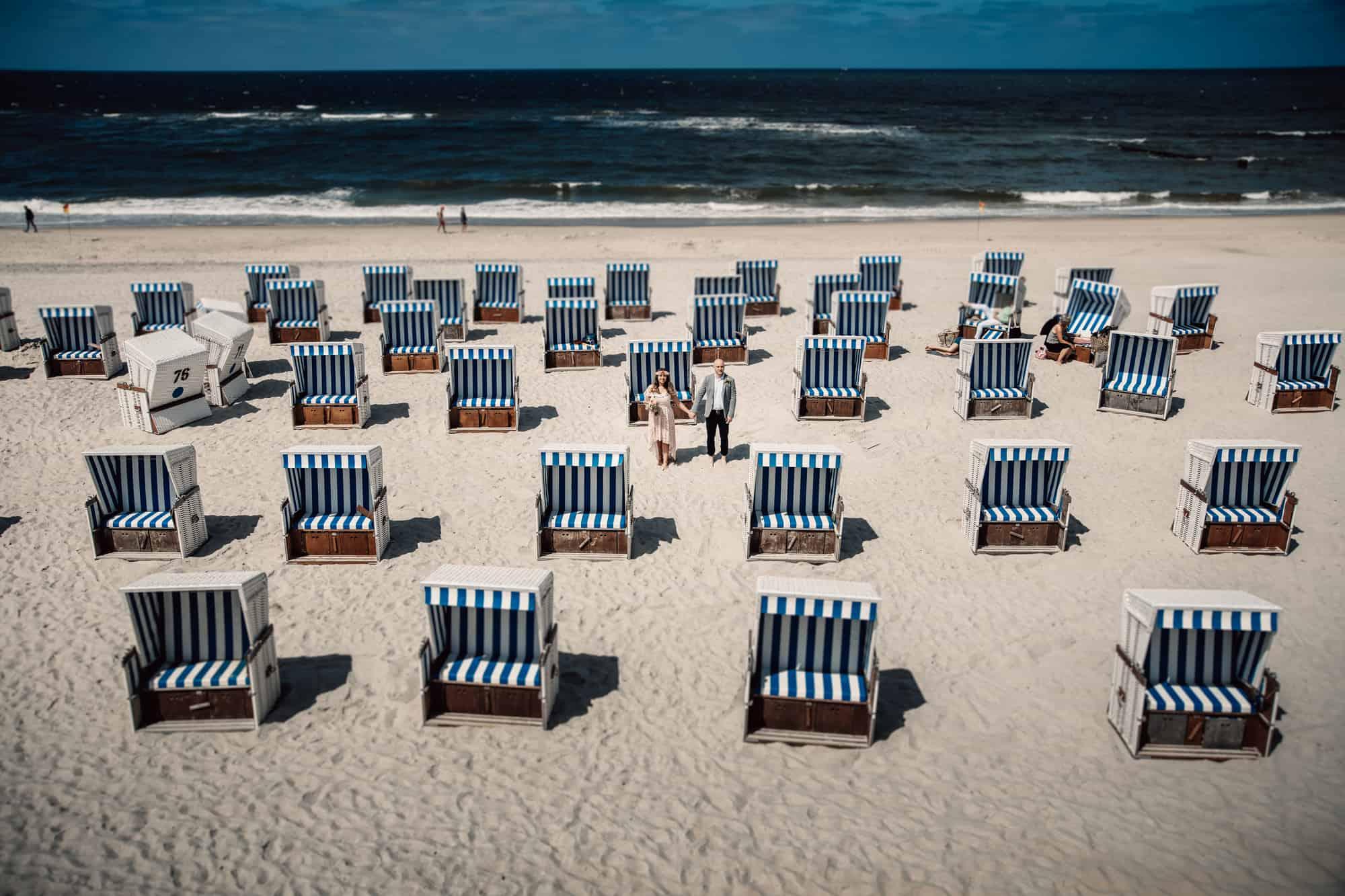 Sylt Fotograf Nordsee Landschaft Hochzeit Meer Fotografie Strand Heiraten